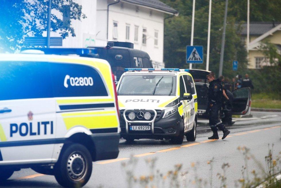 Norvegijos policija (nuotr. SCANPIX)