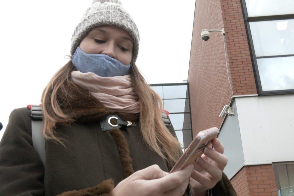 Klaipėdietė sulaukė keisto pasiūlymo internete: už tai jai pažadėjo 500 eurų (nuotr. stop kadras)