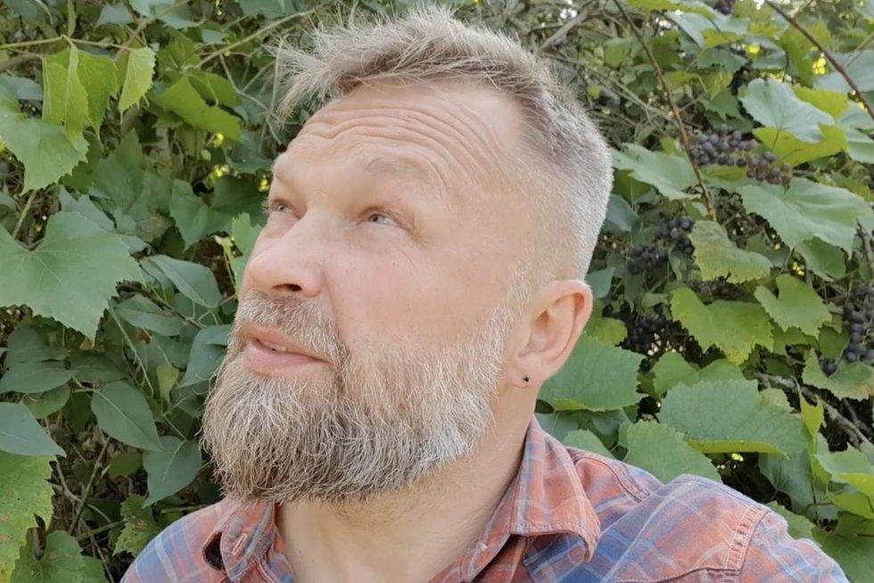 """Laidos """"Starkus stato"""" vedėjas Martynas Starkus (nuotr. stop kadras)"""