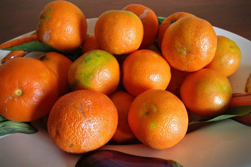 Mandarinai (nuotr. Fotolia.com)