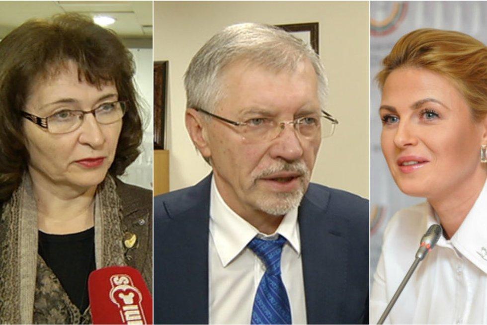 Rima Baškienė, Gediminas Kirkilas, Greta Kildišienė