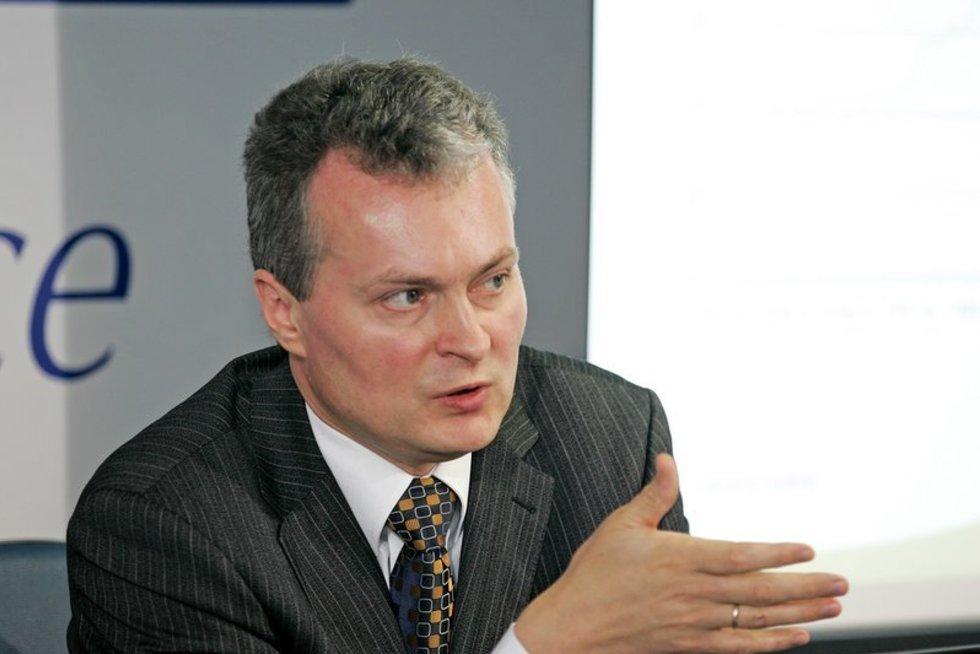 Gitanas Nausėda (nuotr. Organizatorių)