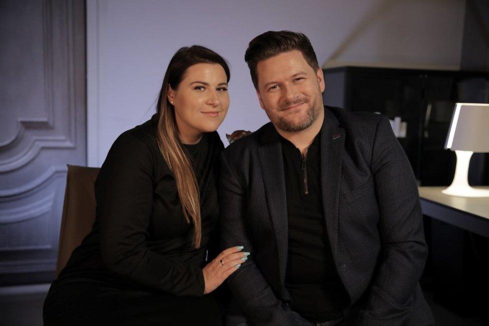 """Erika ir Merūnas Vitulskiai. Juliaus Žalnierukyno ir Aleksandro Broko (""""Culture Bridge"""") nuotr."""
