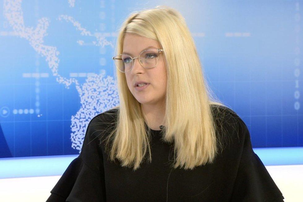 Milda Plepytė-Rainienė (nuotr. stop kadras)