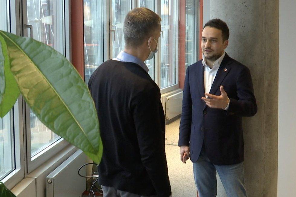 Pirmas baltarusio skundas – jau ir Lietuvos prokuratūroje (nuotr. stop kadras)