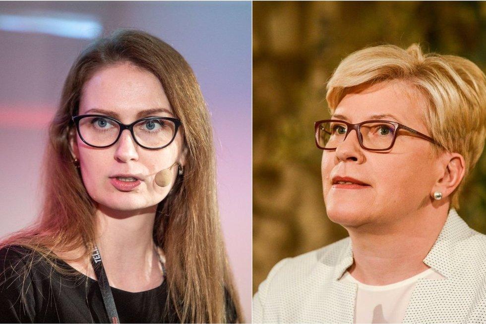 Politologė Urbonaitė apie pamainą Šimonytei: nematau norinčių susideginti savo politinę karjerą (tv3.lt koliažas)