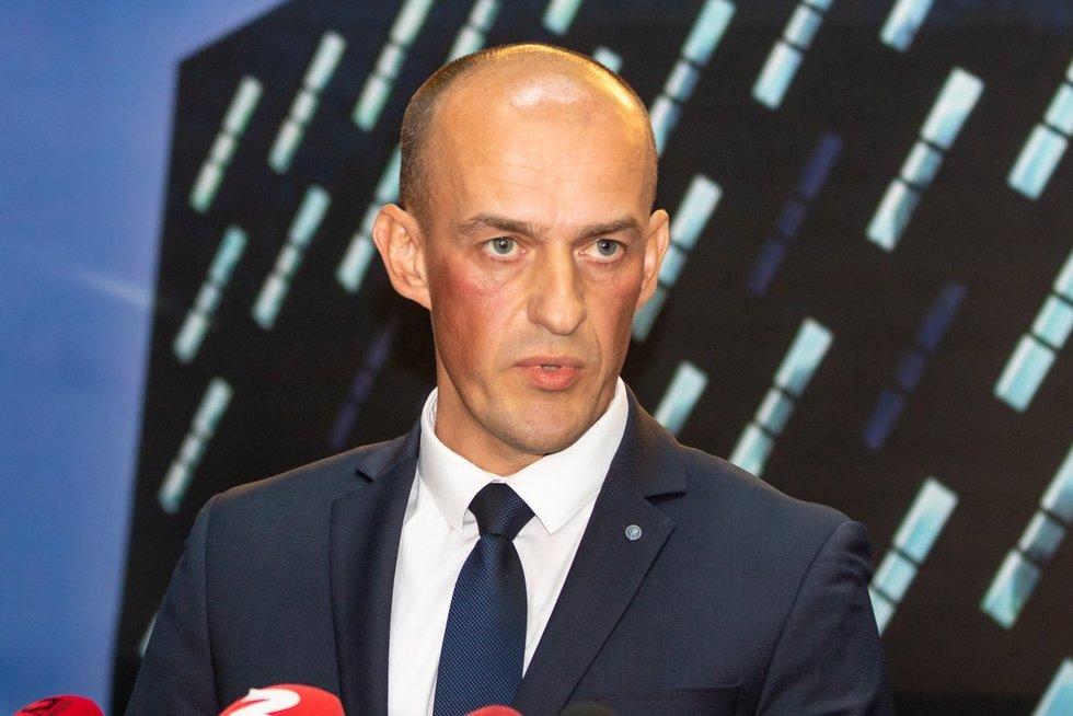 STT direktorius Žydrūnas Bartkus (nuotr. Broniaus Jablonsko)